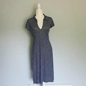 Banana Republic Jersey Dress Silk Blend